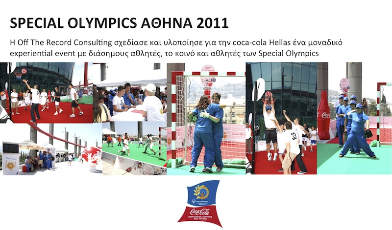Athens special olympics 2011